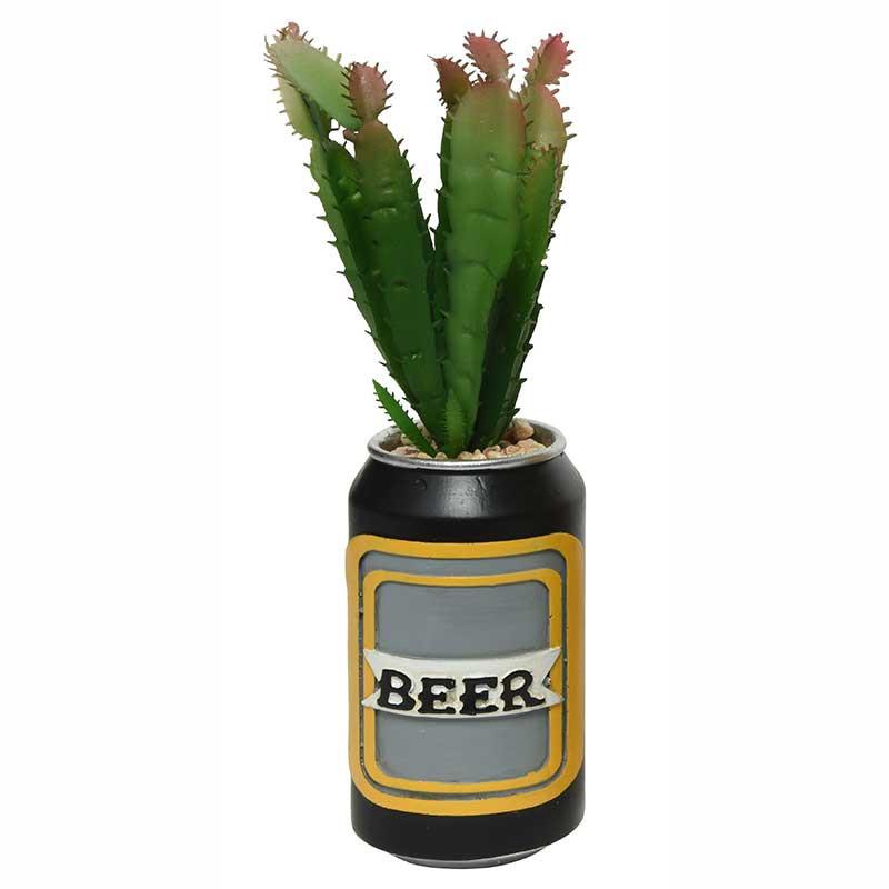 Suckulent / Kaktus i burk, konstgjord växt