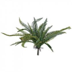 Ormbunke bukett, UV, 60cm, konstgjord växt