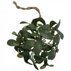 Mistel med snöre, 18 cm, konstgjord växt