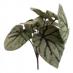 Kungsbegonia på stjälk, 25cm, konstgjord växt