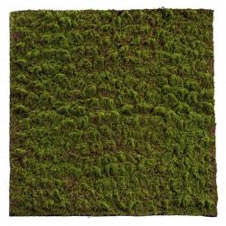 Mossmatta, 100x100cm, konstgjord mossa