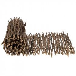 Löpare i trä, natur, 90 cm, äkta trä