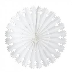 Folie Snöflinga med upphängning, vikbar