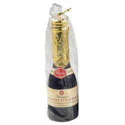 Champagne skruv-konfetti, blandad i guld eller silver