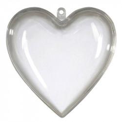 Hjerte med 2 halvdele, 14cm