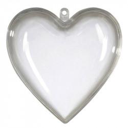 Hjerte med 2 halvdele, 10cm