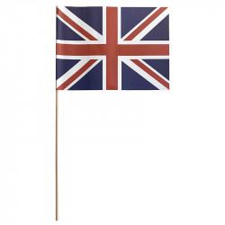 Flagga på träpinne, Storbritannien