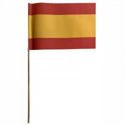Flagga på träpinne, Spanien