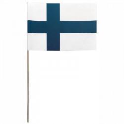 Flagga på träpinne, Finland