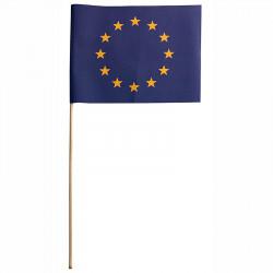Flagga på träpinne, EU