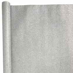 Presentpapper. Silver, 70x150cm