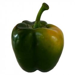 Paprika, grön, konstgjord mat