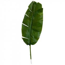 Bananblad, 100 cm, konstgjort blad