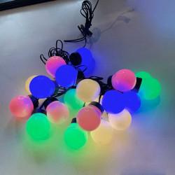 LED-Ljusslinga med 20 pastellfärgade lampor