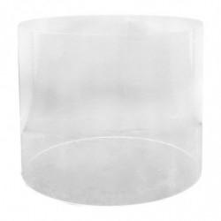Akrylrør, gennemsigtig, 20x20cm
