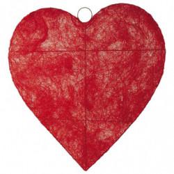 Hjerte flad