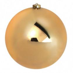 Julekugler, sømløse, blank Ø 14cm