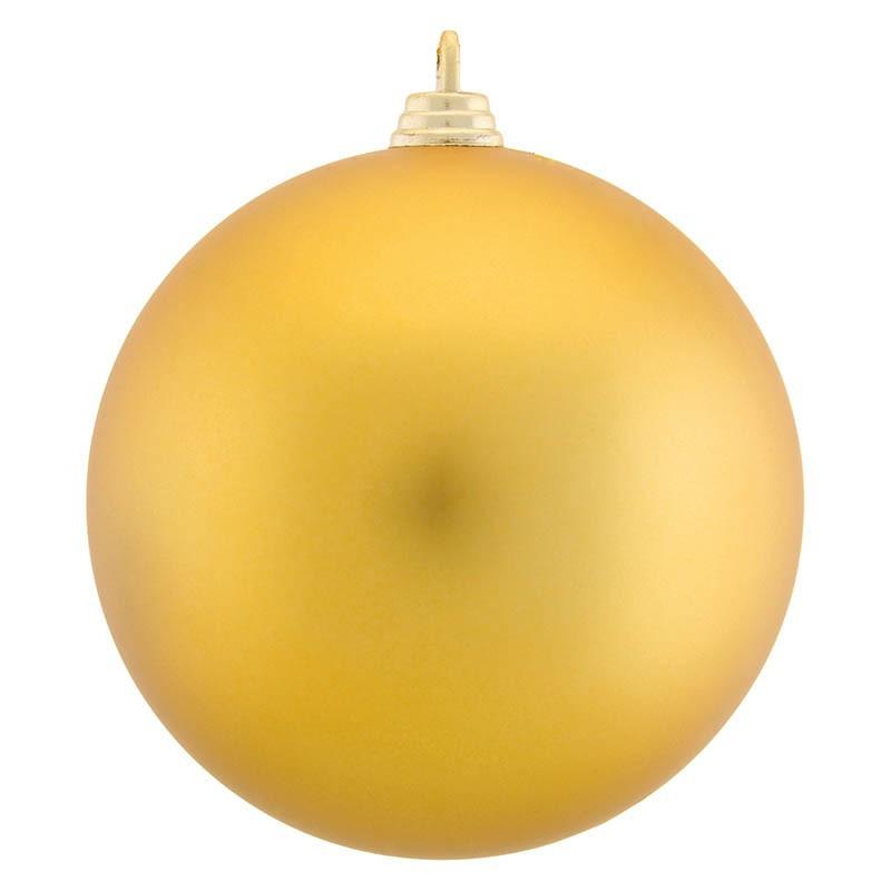 Julekugler, sømløse, 6cm, 12stk./pakke, matte