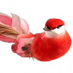 Tulipan på stilk, 62cm Rød, kunstig blomst