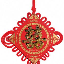 """Kinesisk ophæng med guldfisk og """"bryllup"""""""