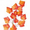 Rosenranke, m 8 roser, Rød, 145cm