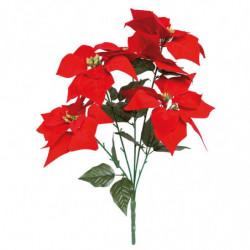 Julestjernebuket med 5 blomste