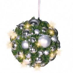 Julekugleophæng med lys
