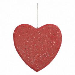 Hjerte med glimmer