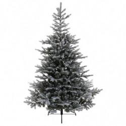 Grandis tilsneet grantræ med metalfod