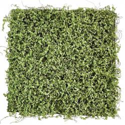 Græs plade, husfred, 50x50cm, kunstig græs