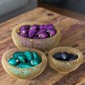 Krydderurt Malurt i jute pose med ophæng, kunstig plante
