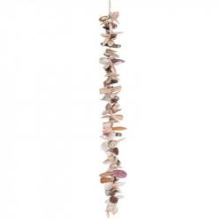 Strandskalle ranke, 120cm, ægte skaller