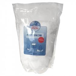 Kunstig sne, fin 350g, brandhæmmende til EN71