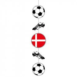 Fodbold ophæng m sko og flag
