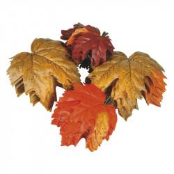 Ahornblade 72stk ass. (Efterårsblade), kunstig blad