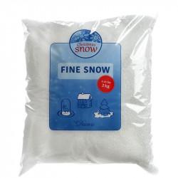 Kunstig sne, fin 2kg, brandhæmmende til EN71