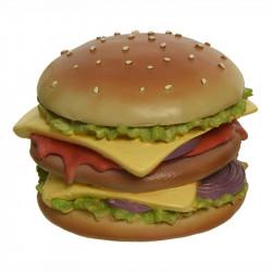 Burger - dobbelt cheese, kunstig mad