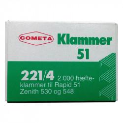 Klammer, til rapid 51