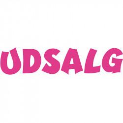 Løse bogstaver: U D S A L G, kan bruges lodret og vandret