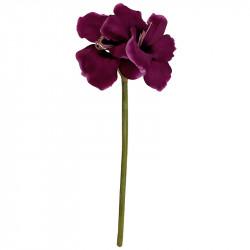 Amaryllis i lilla, 99cm, kunstig blomst