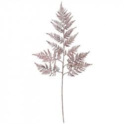 Bregne blad, kobber, 78cm, kunstig blad