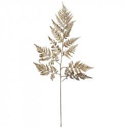 Bregne blad, guld, 78cm, kunstig blad