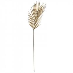 Palmeblad, guld, 76cm, kunstig blad