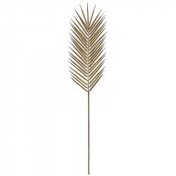 Palmeblad, guld, 106cm, kunstigt blad