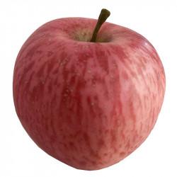 Æble, rød plettet, 9cm, kunstig frugt