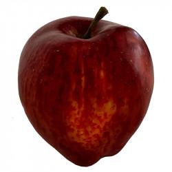 Æble, rød, 9cm, kunstig frugt