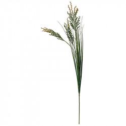 Græs strå m 3 hoveder, 80cm, kunstig græs