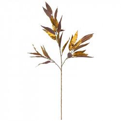Bambus gren, guld, 114cm, kunstig gren