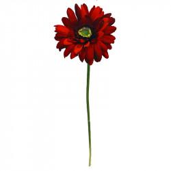 Gerbera,rød, 48cm, kunstig blomst