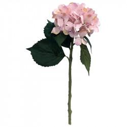 Hortensia, 48 cm Rosa, konstgjord blomma
